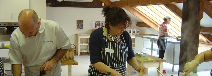 Artisan food & drink courses, cookery courses, Peak District, Bakewell